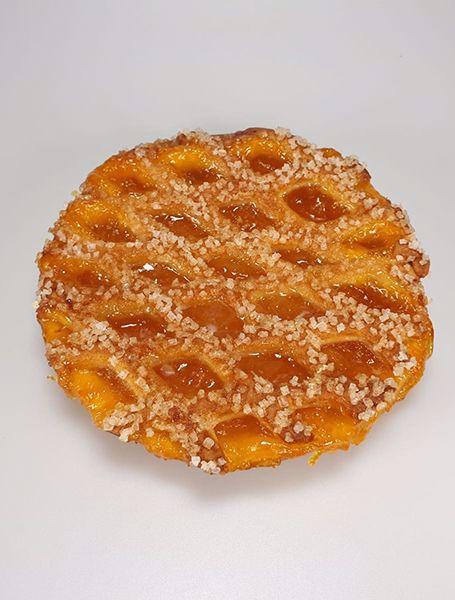 Afbeelding van Klein abrikozen vlaaitje