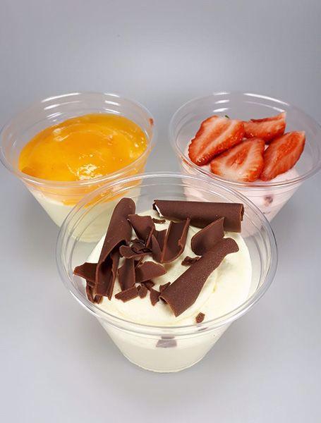 Afbeelding van Toetje witte chocolade