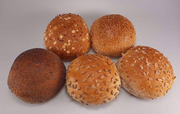 Afbeelding van Gesorteerde ronde broodjes