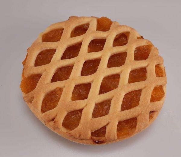 Afbeelding van Klein suikervrij abrikozen vlaaitje